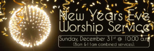 New Years Worship Service