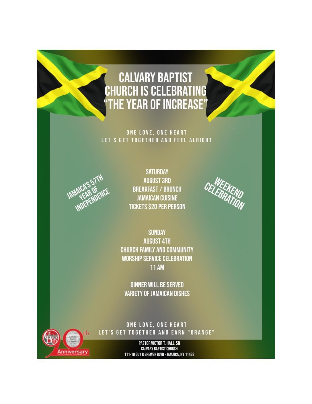 Jamaica Day Flyer